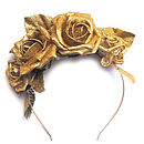 Glitter Rose Crown Headband