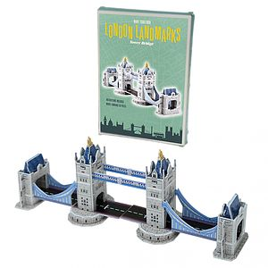 Make Your Own London Tower Bridge - traditional toys & games