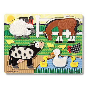 Touch & Feel Puzzles - view all gifts for babies & children