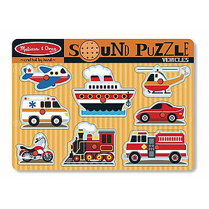 Sound Puzzles - educational toys
