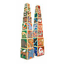 Wooden Animal Stacking Tower