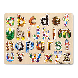 Alphabet Art Puzzle - board games & puzzles