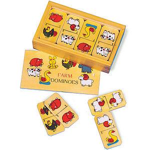 Farm Domino - toys & games