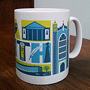 Bath City Typographic Mug