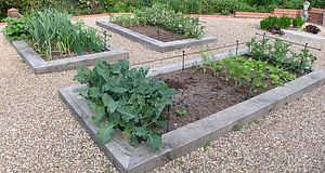 12mm Step Over And Raised Bed Garden Supports - sculptures & ornaments