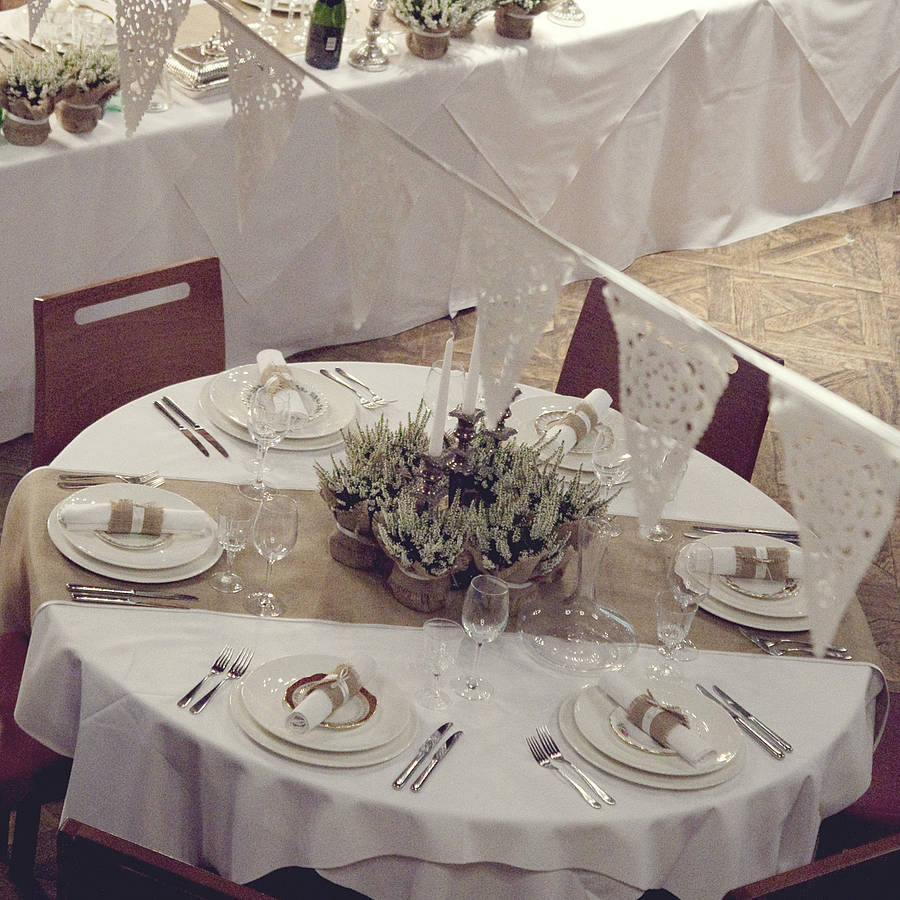 Wide Wedding Table Runners