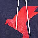 Origami Bird Hoodie