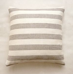 Organic Hemp Stripe Cushion