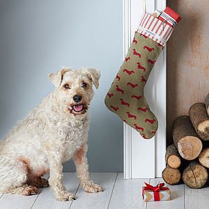 Dog Lover's Christmas Stocking
