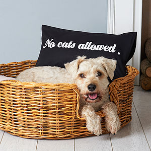 Dog's Cushion Cover - dogs
