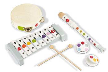 Wooden Music Set