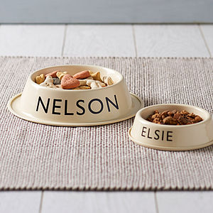 Personalised Pet Bowl - top for dogs