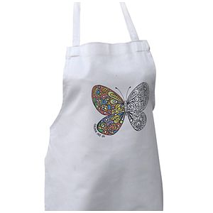 Colour In Children's Butterfly Apron