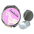 Unicorn Compact Mirror Personalised