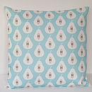 Pear Print Cushion Cover