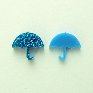 Umbrella Stud Earrings - earrings