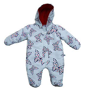 Outdoor Snuggle Suit   Butterfly - coats & jackets