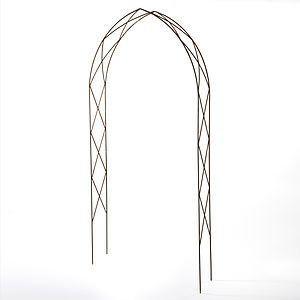 12mm Gothic Garden Arch - garden furniture