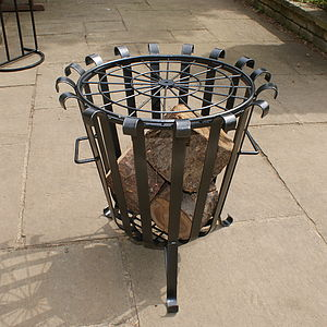 Heavy Duty Garden Brazier - picnics & barbecues