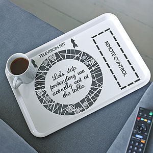 Ultimate Tv Dinner Tray - given with love