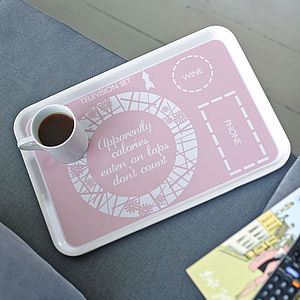 Ultimate TV Dinner Tray For Her - gifts for friends