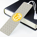 Personalised Square Metal Bookmark