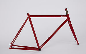 Quella One 2014 Steel Bike Frame Set - games