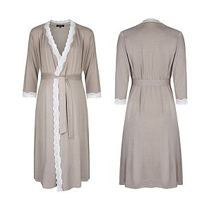 Radiance Maternity Dressing Gown - maternity