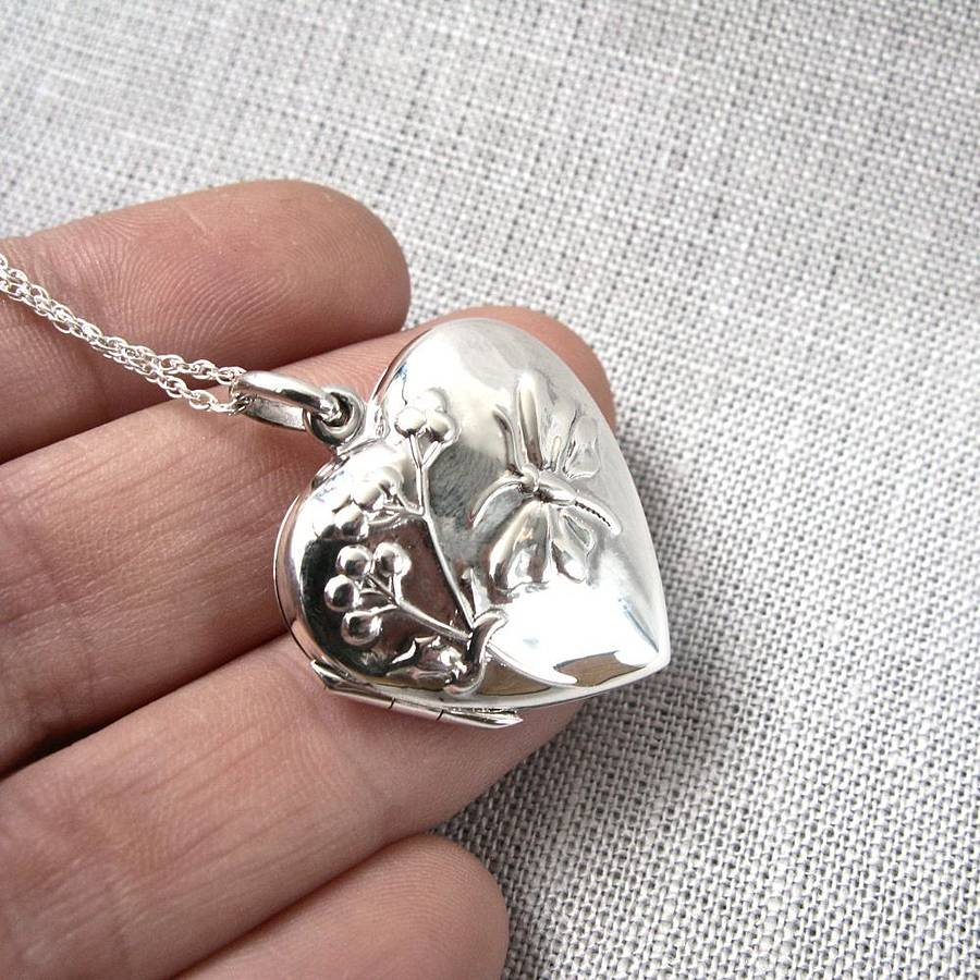 wholesale shape cheap locket lockets new butterfly pendant buy for fashion women cage silver sterling charm