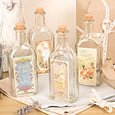 Set Of Four Assorted Vintage Bottles