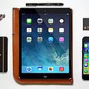 iPad Two Retina Leather Sleeve   Free Phone Sleeve