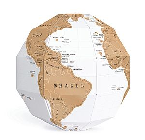 Scratch Globe® - gifts for travel-lovers