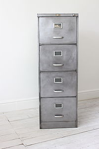Vintage Filing Cabinet - chests of drawers