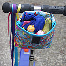 Child's Fairy Dust Handlebar Bag