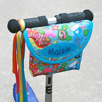 Child's Fairy Dust Print Handlebar Bag