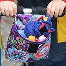 Child's Purple Haze Print Handlebar Bag