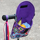 Child's Purple Haze Print Handlebar Bag