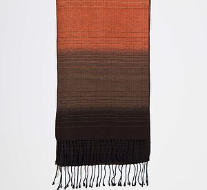 Adonis Oblong Woven Silk Scarf
