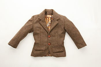 Adorable Teddy Bear Lined Jacket
