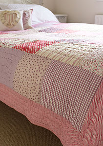 Vintage Patchwork Quilt - bed, bath & table linen