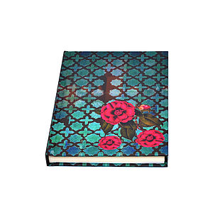 Indian Rose Notebook