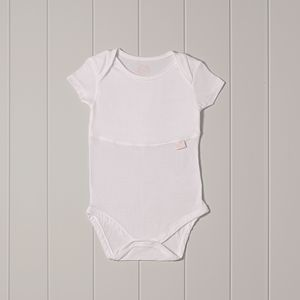 'Midwife Endorsed' Baby's Vest With Dribble Proof Liner