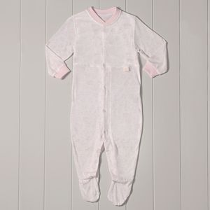 'Midwife Endorsed' Babygrow With Dribble Proof Liner