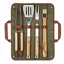 Barbecue Tool Set With Carry Case