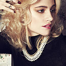 Pixie Lott Charlie Ann Pearl Collar Necklace