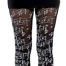 Musical Note Tights