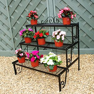 Three Tier Decorative Pot Stand