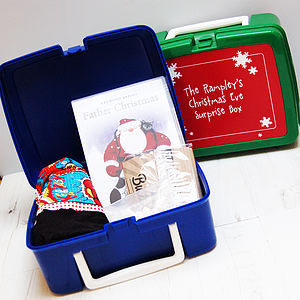 Personalised 'Christmas Eve Surprises' Box - view all gifts for babies & children