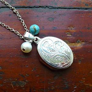 Silver Locket Necklace - necklaces & pendants