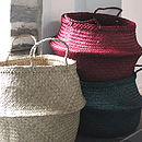 Deep Seagrass Basket